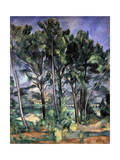 The Aqueduct, 1898-1900 Giclee Print by Paul Cézanne