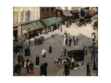 The Place Pigalle in Paris, 1880S Giclee Print by Pierre Carrier-belleuse