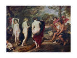 The Judgment of Paris, C1635-1638 Giclee Print by Peter Paul Rubens