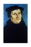Martin Luther, German Protestant Reformer, C1529 Giclée-tryk af Lucas Cranach the Elder