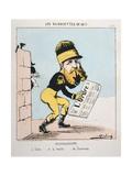 Badingoscope, 1871 Giclee Print by  Moloch