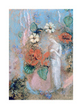 Pandora, C1860-1916 Giclee Print by Odilon Redon