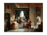 The Convalescence of Bayard, C1796-1842 Giclee Print by Pierre Henri Revoil