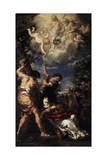 The Martyrdom of Saint Stephen, 1660 Giclee Print by Pietro da Cortona