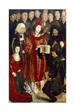 Altarpiece of St Vincent, 1460 Giclee Print by Nuno Goncalves