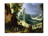 View of Rome, C1574-1626 Giclee Print by Paul Bril