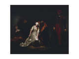 The Execution of Lady Jane Grey, 1834 Giclee Print by Paul Delaroche