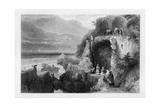 The Tomb of St George, Bay of Kesrouan, Syria, 1841 Giclee Print by MJ Starling