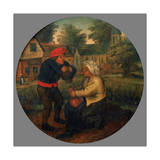 Unidentified Flemish Proverb, Late 16Th/Early 17th Century Giclee Print by Pieter Brueghel the Younger
