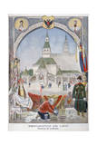 The Russian Pavilion at the Universal Exhibition of 1900, Paris, 1900 Giclee Print by Pierre Mejanel
