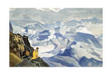 Drops of Life, 1924 Giclee Print by Nicholas Roerich