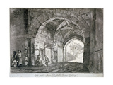Gate under Queen Elizabeth's Picture Gallery, Windsor Castle, Berkshire, 1812 Giclee Print by Paul Sandby