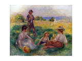 Party in the Country at Berneval, 1898 Giclee Print by Pierre-Auguste Renoir