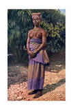 A Woman from Accra, Ghana, 1922 Giclee Print by PA McCann