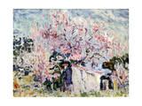 Spring in Provence, 1903 Gicléetryck av Paul Signac