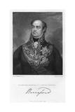 William Beresford, 1st Viscount Beresford, British Soldier and Politician, 1830 Giclee Print by Peltro William Tomkins