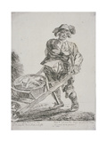 Offal Seller, Cries of London, 1760 Giclee Print by Paul Sandby