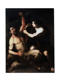 Marsyas and Apollo, Early 1650S Giclee Print by Luca Giordano