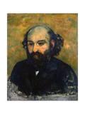 Self-Portrait, 1880-1881 ジクレープリント : ポール・セザンヌ