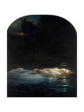 The Young Martyr, 1855 Giclee Print by Paul Delaroche