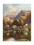 Cheddar Gorge, Somerset, 1924-1926 Giclee Print by Louis Burleigh Bruhl