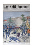 Invasion of the Russian Frontier by the Chinese, 1900 Giclee Print by Oswaldo Tofani