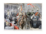 Procession, Diamond Jubilee of Queen Victoria, 1897 Giclee Print by Oswaldo Tofani