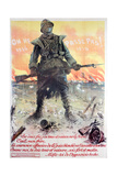 They Shall Not Pass! 1914-1918, 1918 Giclee Print by Maurice Neumont
