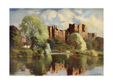 Ludlow Castle, Shropshire, 1924-1926 Giclee Print by Louis Burleigh Bruhl