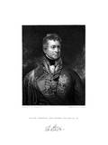 Sir Thomas Picton, British Soldier, 19th Century Giclee Print by Peltro William Tomkins
