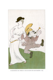 Mr Rudyard Kipling Takes a Bloomin Day Aht, on the Blasted 'Eath... 1904 Giclee Print by Max Beerbohm
