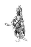 Costume from the French Theatre Giclee Print by  Moreau