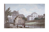 The Thatched House Inn and the New River, Islington, London, C1790 Giclee Print by Paul Sandby