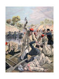 A Revolt of French Anarchists in Guyana, 1894 Giclee Print by Oswaldo Tofani