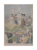 Fatted Ox Festivities, Villette, Paris, 1900 Giclee Print by Oswaldo Tofani