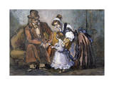 The Happy Family, 1847 Giclee Print by Paul Gavarni