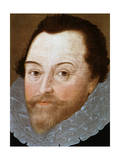 Sir Francis Drake, English Sailor, 1591 Giclee Print by Marcus Gheeraerts The Younger