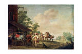 A Forge, 1648 Giclee Print by Pieter Meulener