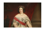 Portrait of the Grand Duchess Anna Pavlovna, 1849 Giclee Print by Nicaise De Keyser