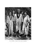 Lacandon People, 19th Century Giclee Print by Pierre Fritel
