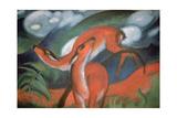 Red Deer II, 1912 Impression giclée par Marc Franz
