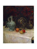 Still Life with a Brass Plate, Late 19th or Early 20th Century Giclee Print by Paula Modersohn-Becker