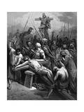 Crucifixion, 1866 Giclee Print by Gustave Doré