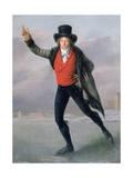 The Skater, 1798 Giclée-tryk af Pierre Maximilien Delafontaine