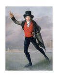 The Skater, 1798 Giclee Print by Pierre Maximilien Delafontaine