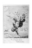 The Fall of Icarus, 1655 Giclee Print by Michel de Marolles