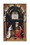 Annunciation, 1452 ジクレープリント : ペトルス・クリストゥス