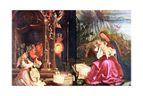 The Nativity of the Antonins of Isenheim, C1490-1528 Giclee Print by Matthias Gruenewald