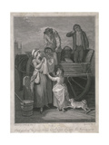 Fresh Gathered Peas Young Hostings, Cries of London, C1795 Giclee Print by Pietro Bonato