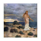 Woman on the Beach, 1887 Giclee Print by Pierre Puvis de Chavannes